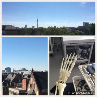 Lernen mit mehr Ausblick: heute mit Jeanette in Berlin. Never stop learning. You can always sleep later…