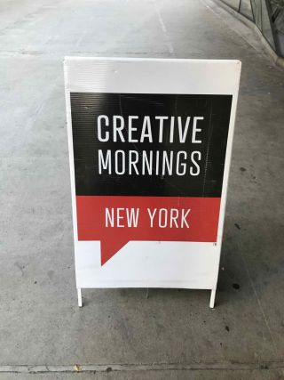Creative Mornings New York